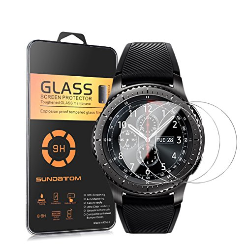 5459650df6e0b [3-pack] Samsung Gear S3 Frontier protection d'écran, Sundatom Samsung.