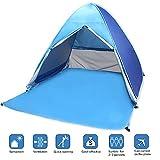 Tenda pop-up da spiaggia, marca Vicpow, tenda portatile da spiaggia, istantanea, tenda da sole e da campeggio per 2-3 persone