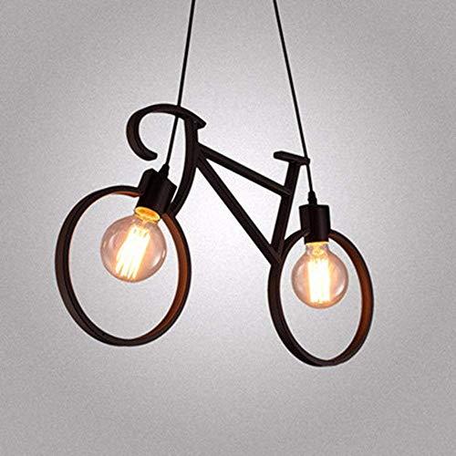 EI Kreative Haushaltsbeleuchtung Schlafzimmer Wohnzimmer Persönlichkeit und Lampen Kronleuchter Sepia Industrielle Luft Selbst Zyklus Warmes Licht 5 Watt 61 * 37 cm -