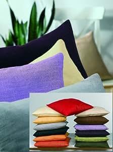Cas Sander oreiller 50x50 70088 brique sari de soie 100% / terre cuite / corail (couleur 33)