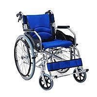 Wheelchair Folding lightweight wheelchair Elderly portable scooter Disabled wheelchair Aluminum alloy wheelchair