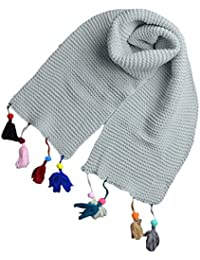 bufandas para niños, RETUROM Moda Otoño Invierno Niñas Niñas Bufanda Bufandas de punto