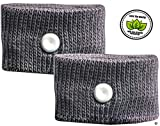 Prime Bands Anti Nausea Wristbands For Travel Sickness - Motion Sickness Bands For