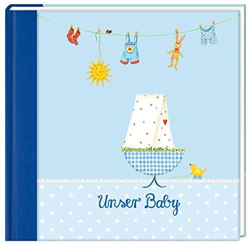 Eintragalbum - Unser Baby (hellblau)