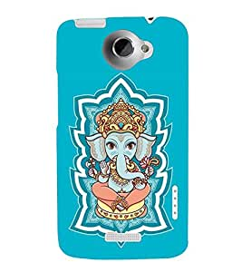 Takkloo Lord Ganesha Painting of lord ganesha,Lord of hindus, son of god shiva, Nice painting, little Ganesha) Printed Designer Back Case Cover for HTC One X :: HTC One X+ :: HTC One X Plus :: HTC One XT