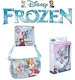 Frozen Umhängetasche + Frozen Schmuck Set
