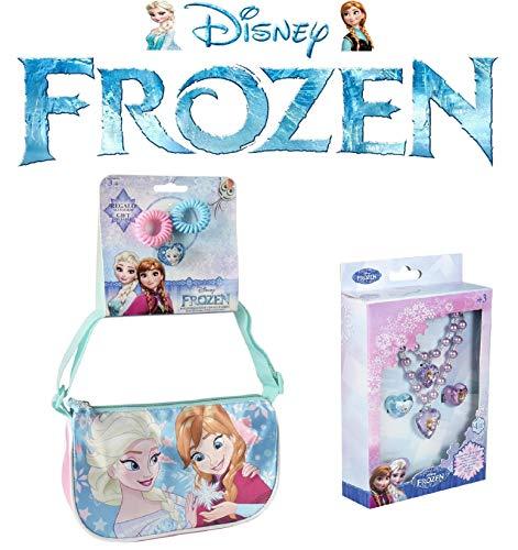 Borsa a tracolla frozen + set gioielli frozen