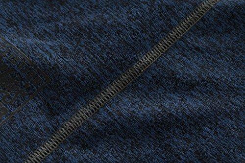 Affliction T-Shirt Brave Athletic Blau Blau