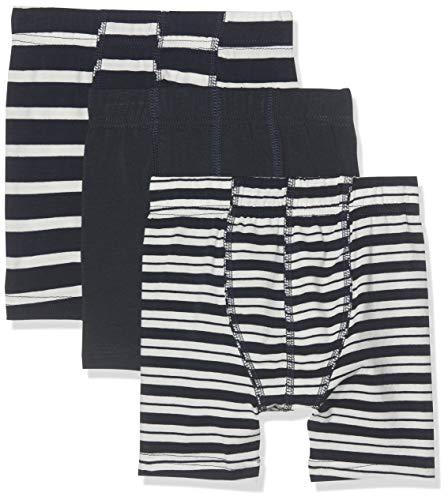 NAME IT Baby-Jungen NMMTIGHTS 3P YD NOOS Boxershorts, Mehrfarbig (Dark Sapphire), (Herstellergröße: 104) (3er Pack)