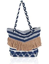 Suprino Bags Women's Hand Made Shopper Bag (Multi Color Handbag)