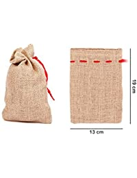 Alsino Jutesäckchen 12-48 Stück Jutebeutel Jutebeutelchen Adventskalender Säckchen zum basteln 3 Größen