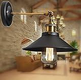 Métal Plafonniers Retro Lustres Lampe Edison Culot E27 Vintage Murale Applique Réglable Luminaires Plafonnier Suspension Industrielle Chambre Applique...