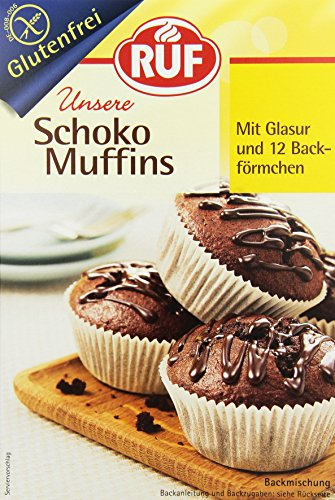 RUF Schoko Muffins glutenfrei, 8er Pack (8 x 350 g)