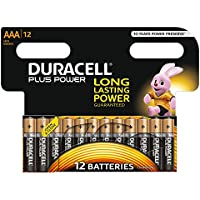 Duracell Plus AAA Battery (Pack of 12)
