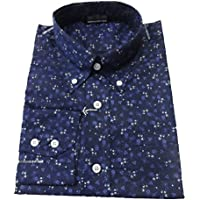 Relco Mens Mod Vintage Floral Button Down Shirts