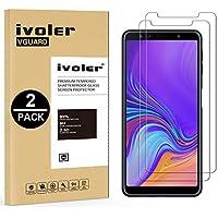 iVoler [2 Pack Vetro Temperato Compatibile con Samsung Galaxy A7 2018 [Garanzia a Vita], Pellicola Protettiva, Protezione per Schermo