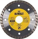 DeWalt DT3712-QZ Disco Sinterizzato Turbo a Corona Continua Scanalata, Materiali da Costruzione, 125 x 22.2 x 7 mm