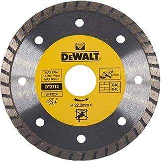 Dewalt DT3712-QZ Disco de diamante turbo para corte en seco 125 x 22.2 mm