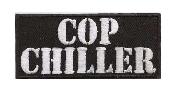 Chopper Killer Motorrad Biker Rocker Aufn/äher Patch Abzeichen COP CHILLER