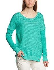 Vans Shirt G Loveless Sweater - Camiseta / camisa deportiva para mujer, color verde, talla XS