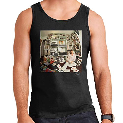 Lawrence Watson Official Photography - Paul Weller With Record Collection Men's Vest