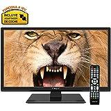 "Nevir 7416 TV 20"" LED HD USB DVR 12V HDMI Negra"