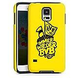 DeinDesign Samsung Galaxy S5 Neo Hülle Tough Case Schutzhülle Borussia Dortmund BVB Pokalfinale Fanartikel