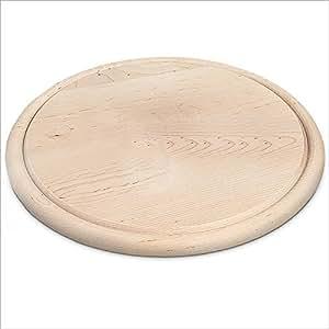 planche d couper bois clair rond 28 x 1 2 cm cuisine maison. Black Bedroom Furniture Sets. Home Design Ideas