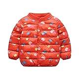 Babystaff Damen Winterjacke丨Jacke Baby MäDchen Winter丨Mantel Baby MäDchen丨Kinder Baby Winter Cartoon Print Mantel Mantel Jacke Dicke warme Oberbekleidung Kleidung