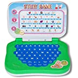 Learning Educational Study Game Laptop With Music Mode, Letter Mode, Spell Mode & 32 English Words (Multicolor)