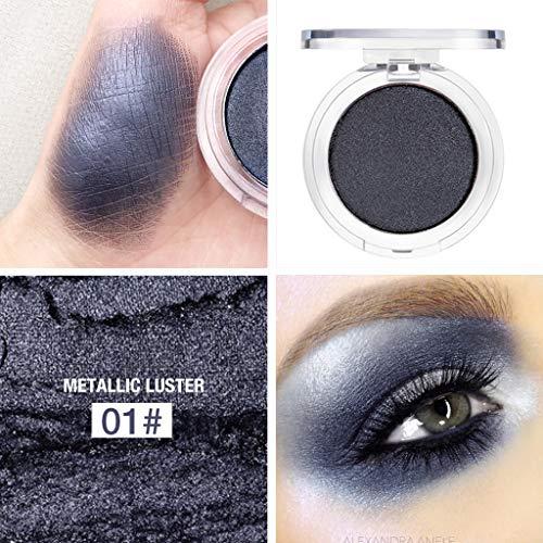 LEEDY Palette De Fard à PaupièRes Unique MéTallique Shimmer Glitters Eye Shadows Ombre à Paupières