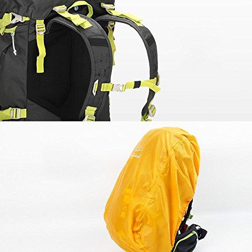 BUSL Bergsteigen Taschen Rucksack wasserdichte Wander Schultern reiten M Multi-Funktions-Outdoor-Reisen 60L a