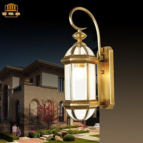 Wandun Luce Di Paesaggio Del Giardino Di Stile Europeo All'Aperto Parete Lampada Cottage
