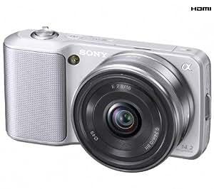 Sony a NEX 3A - Digitalkamera - spiegelfreies System, NEX3AS.CEE5