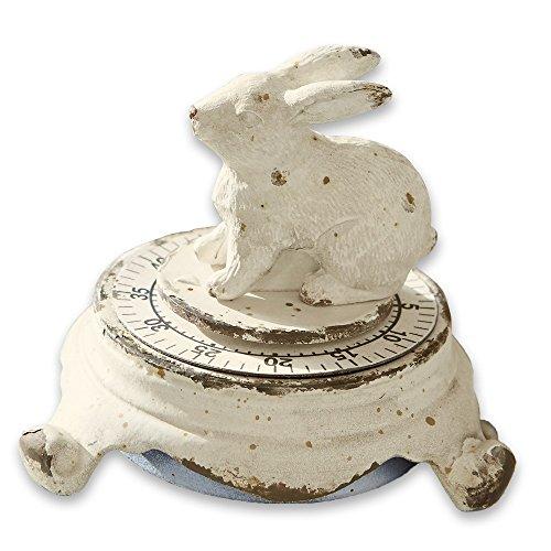 LOBERON Eieruhr Terese antikweiß