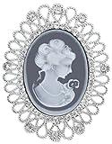 Jodie Rose FASHIONOTHER Metalllegierung Rundschliff transparent Cristal