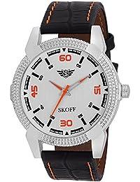 Skoff Analogue Silver Dial Men's Watch - Es00054