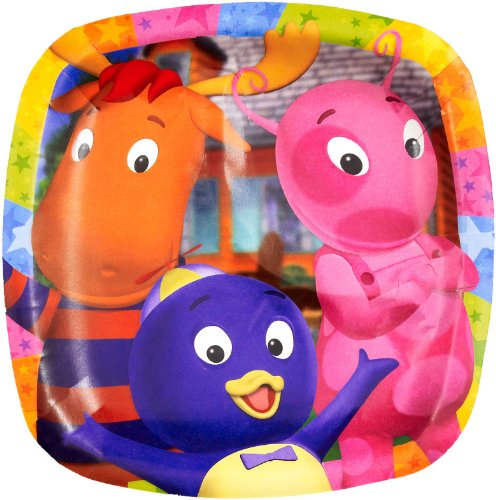 Backyardigans Dessert Pocket Plates (8 count)