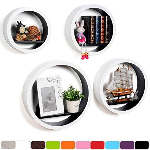 woltu-wall-shelf-round-mdf-wooden-bookcase-hang-regal-wallboard-cd-dvd-shelf-green-rg9231gn-a-4pcs