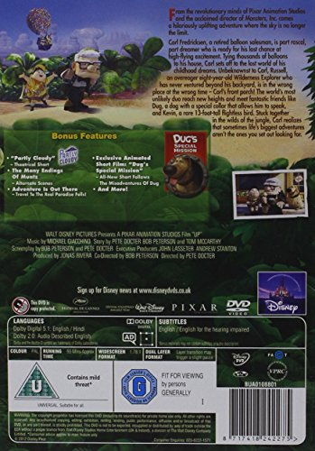 Image of Up [DVD] [2009]