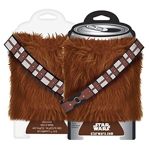 Star Wars Can Huggers - Star Wars - Chewbacca Fur New Huggie Koozie 14006