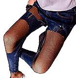 Apna Showroom Geeta Laxmi Women's High Waist Sexy Lace Fishnet Lingerie Stockings Small Mesh Black Free Size