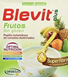 Blevit Plus Superfibra Frutas Cereales - Paquete de 2 x 300 gr - Total: 600 gr