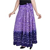 Shree Mangalam Mart Women Bandhej Purple...