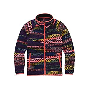 Burton Mädchen Spark Full-Zip Collar Fleece Pullover