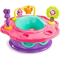 Summer Infant 13436Z Super Seat Waldfreunde Spielcenter und Kindersitz, rosa/pink /mehrfarbig