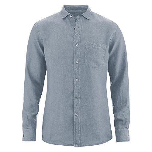 Preisvergleich Produktbild HempAge Herren Hemd langarm aus reinem Hanf Aloe L