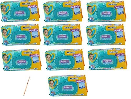 irpot-10-conf-salviettine-pampers-baby-fresh-salviette-detergenti-pulizia-infanzia-720-pz