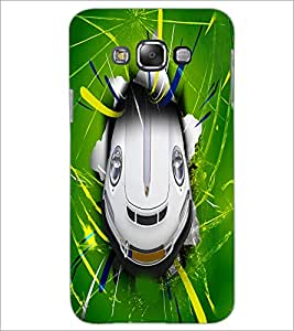 PrintDhaba Cartoon Car D-3425 Back Case Cover for SAMSUNG GALAXY GRAND 3 (Multi-Coloured)