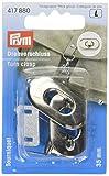 Prym 417880 - Drehverschluss für Taschen silberfarbig